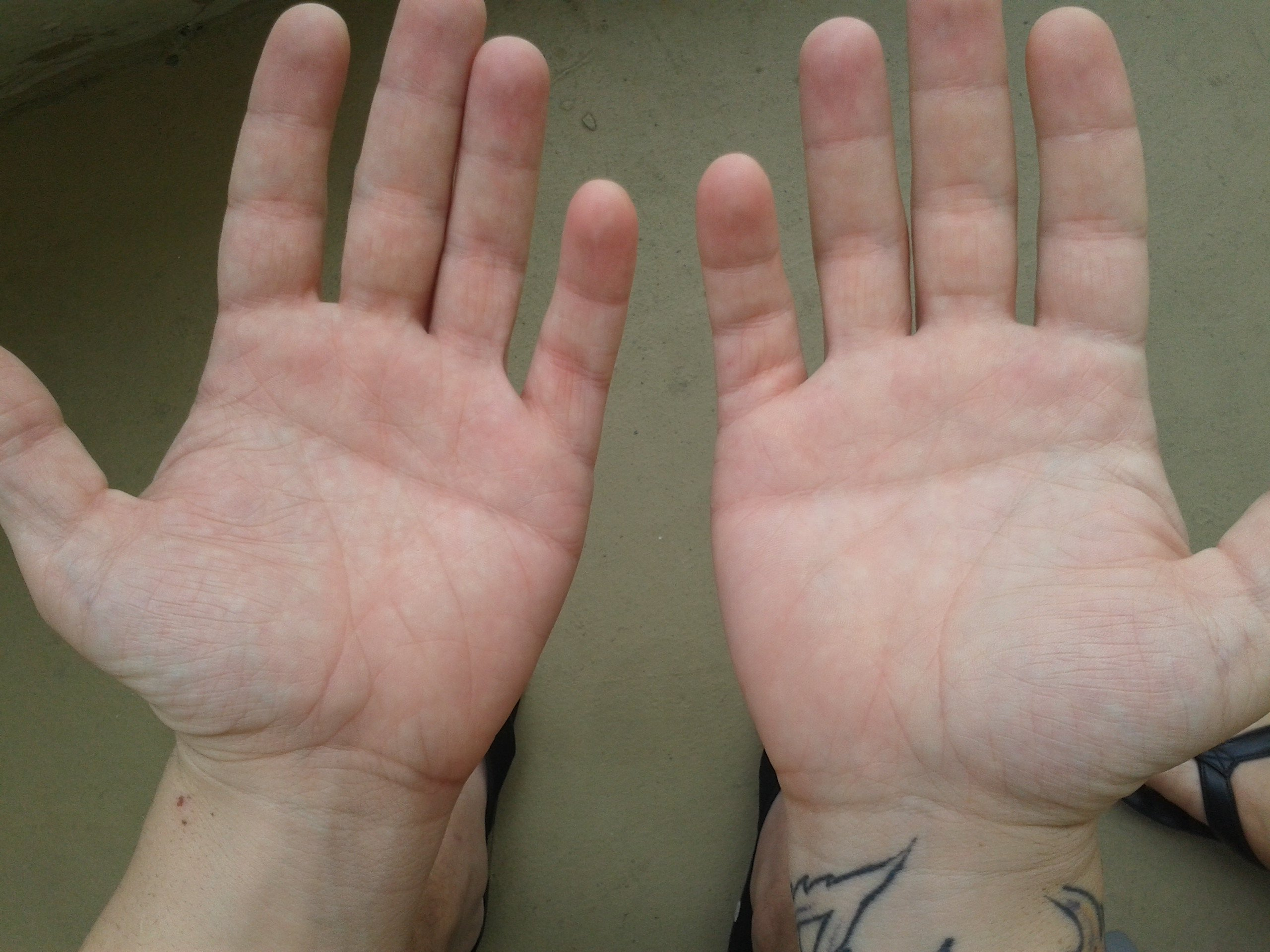If You Have A Half Moon On Your Palms This Is What It Apparently Means