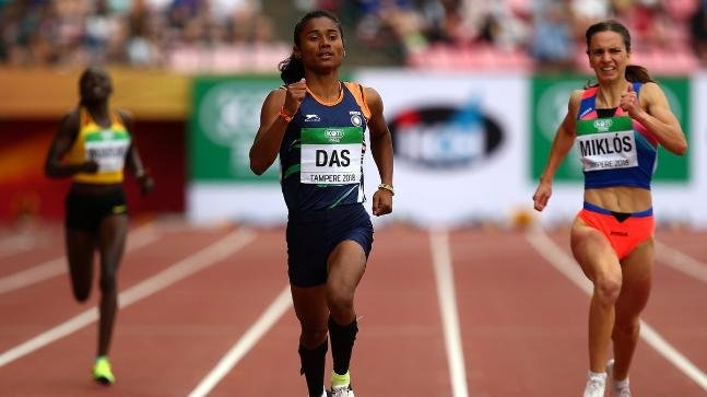 18-Year-Old Hima Das Made History By Getting India Its First Ever