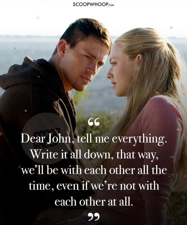 20 Quotes From 'Dear John' That Prove Love Is Bound By