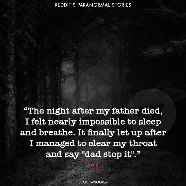 Redditors Reveal Their Eerie Experiences & It'll Make You