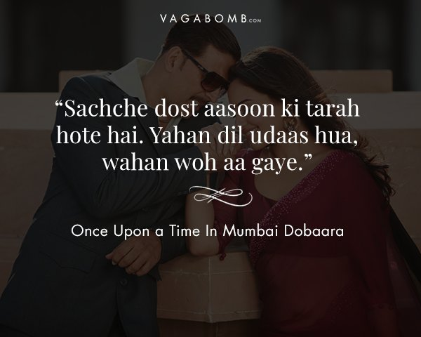 Friends Are Forever 15 Dialogues From Bollywood That Talk About The