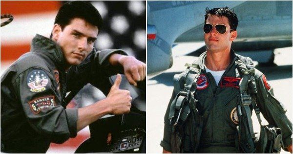 Aviators, Tom Cruise & That Jacket. The OG 'Top Gun' Would Always 'Take My Breath Away'