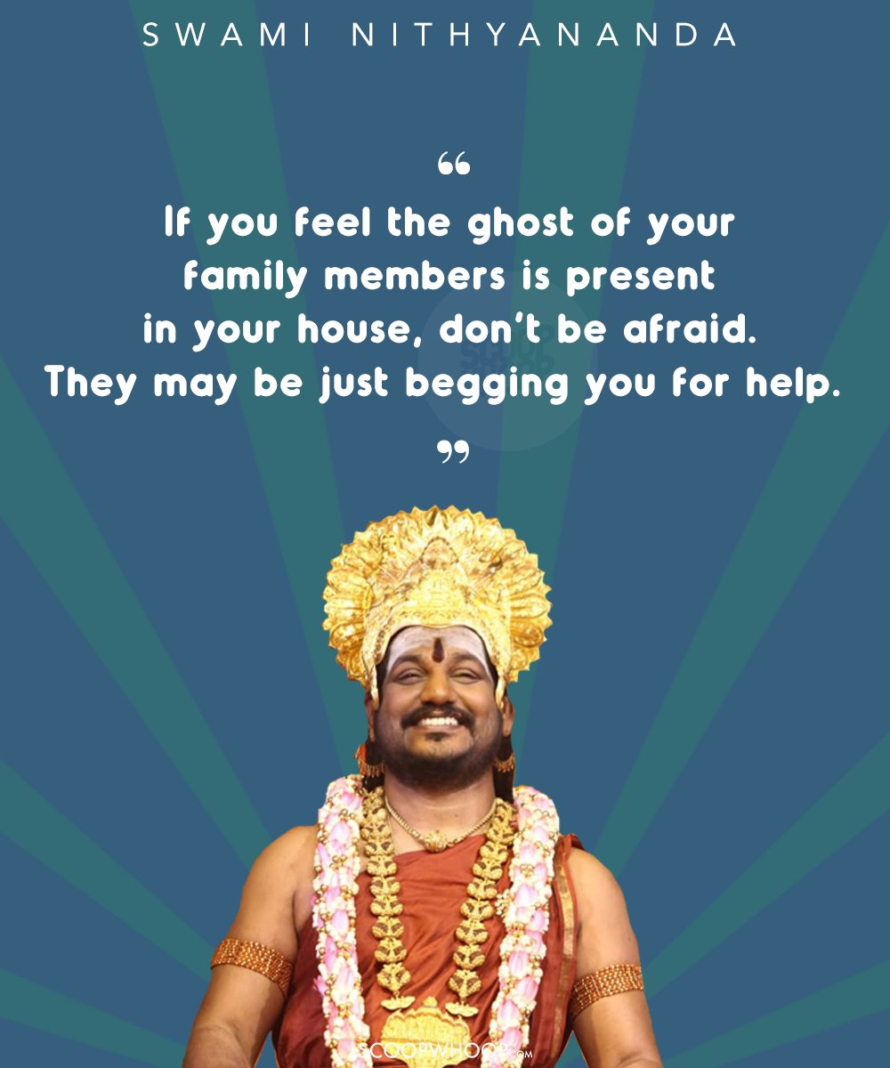 15 Life Altering Gems By Swami Nithyananda Which Prove