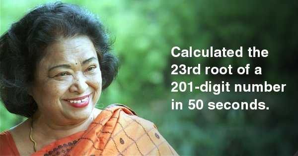 Everything To Know About Shakuntala Devi, The 'Human Computer' & A Pioneer Of Queer Activism