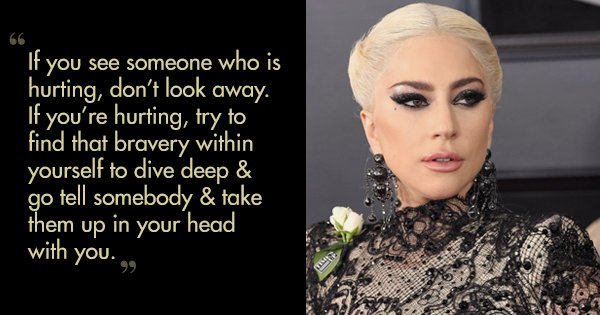 28 Empowering Quotes By Lady Gaga That Will Heal Your Soul's Deepest Wounds