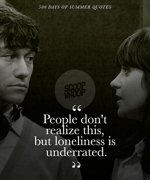 ed2f090f88b5 These 21 Quotes from  500 Days Of Summer  Take A Realistic Look On ...