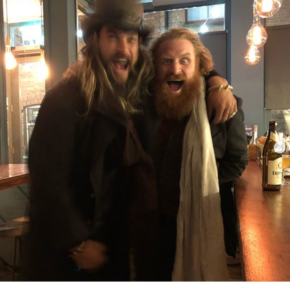 Khal Drogo Partied With Tormund In Real Life & GoT Fans ...