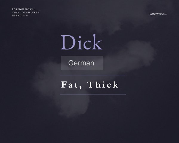 You suck dick translation german