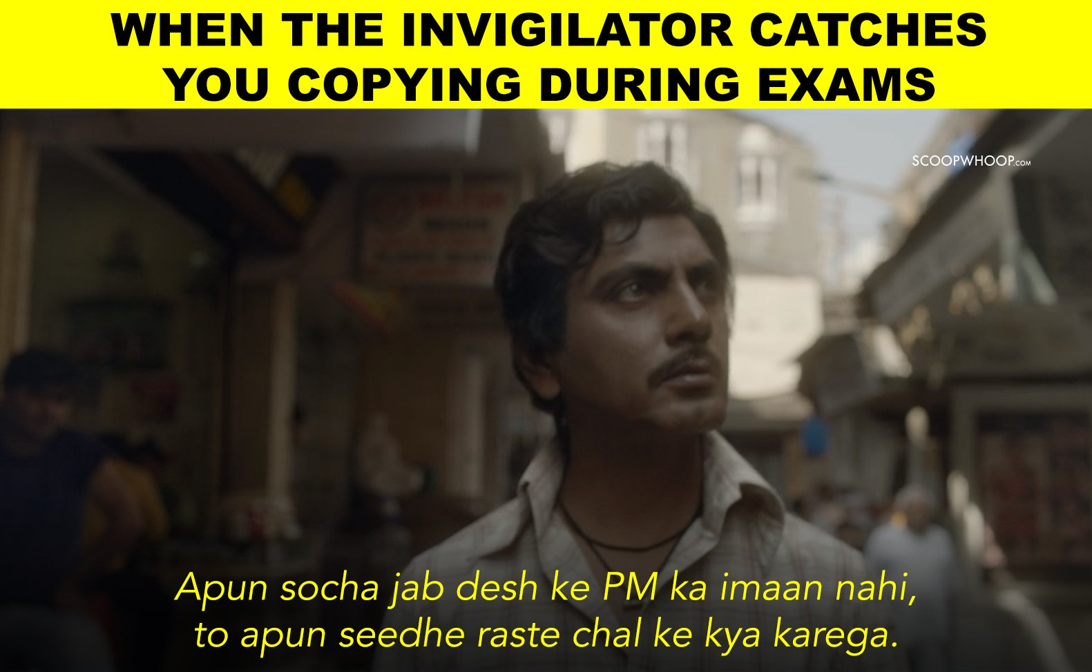 We Used Sacred Games Dialogues In Everyday Situations