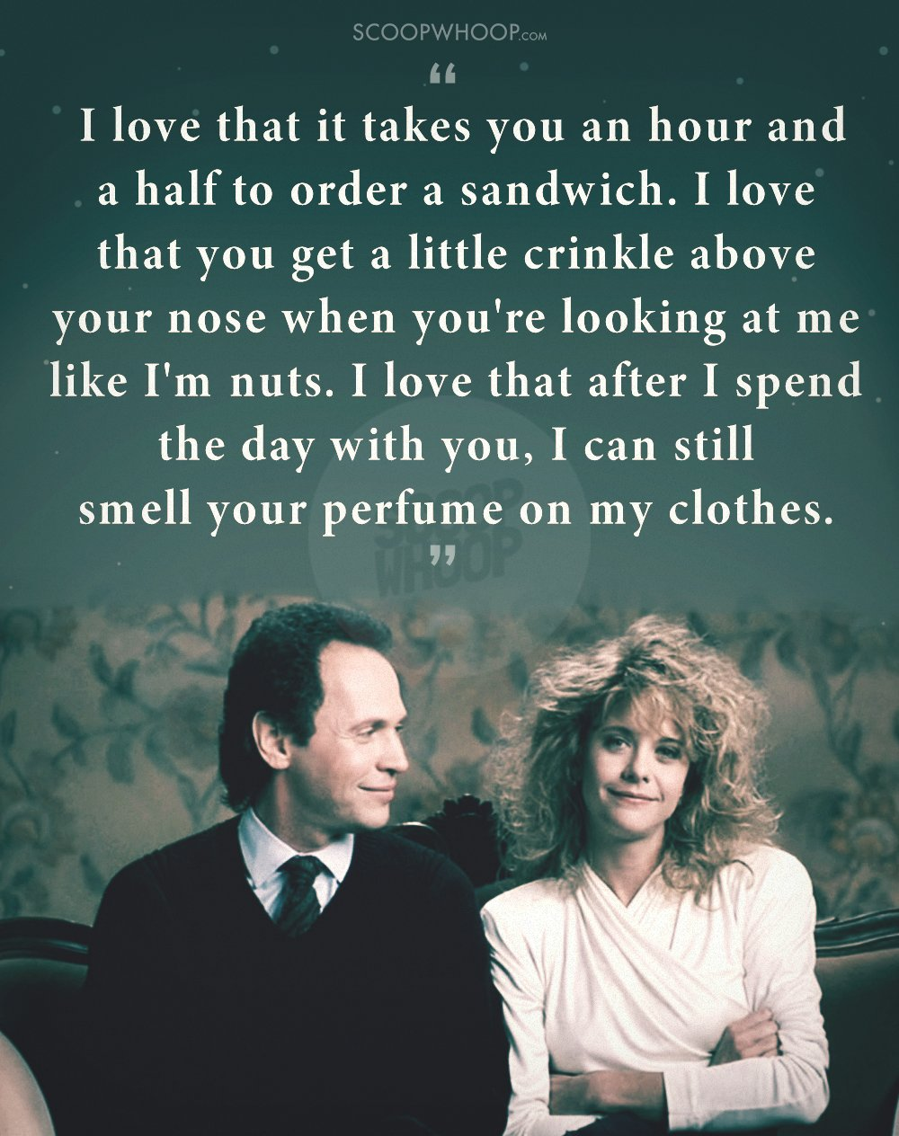 quotes from when harry met sally that prove imperfect people