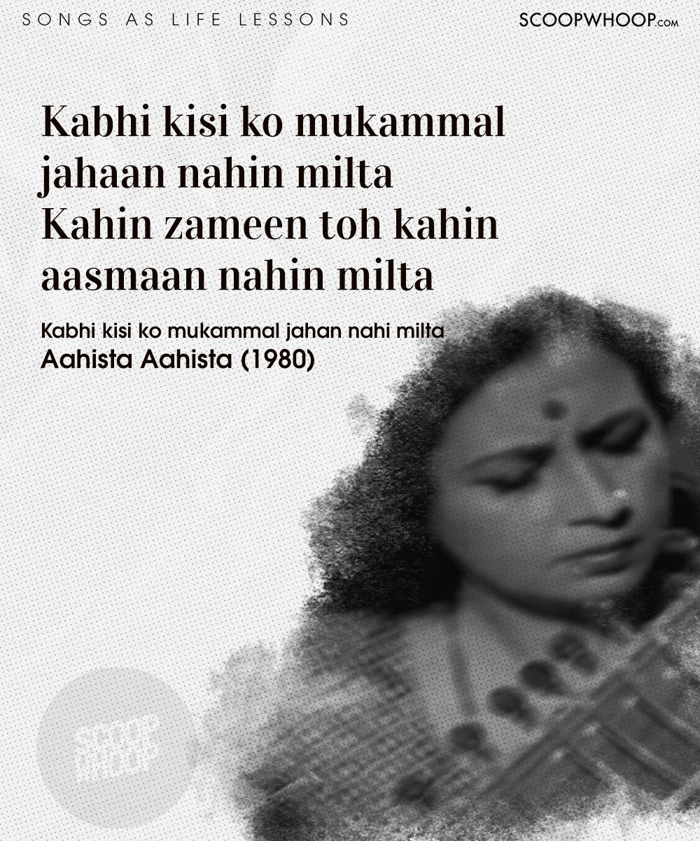 20 Classic Bollywood Songs That Are Actually Life-Lessons In