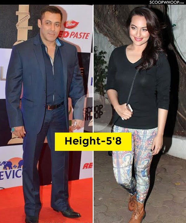 18 bollywood pairs whose real height will definitely surprise you anil kapoor sonam kapoor voltagebd Choice Image