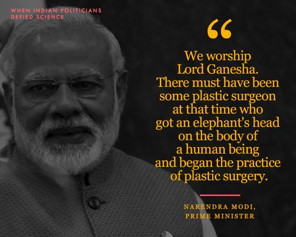 13 Unbelievably 'Scientific' Comments by Indian Politicians