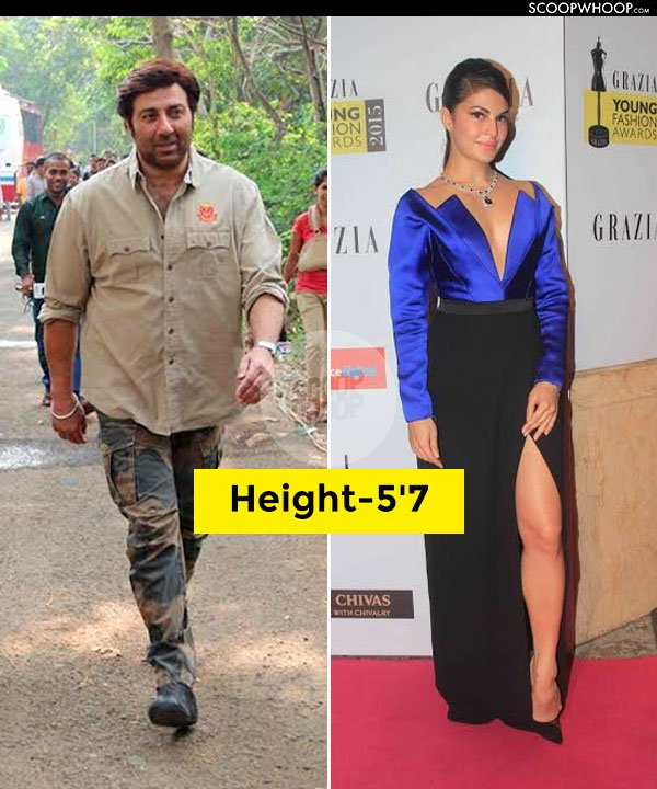 All Bollywood Actors Height In Feet Without Shoes
