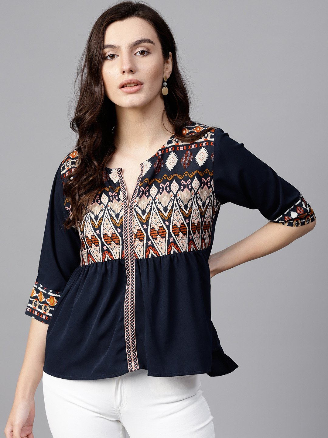 3744178a1a7 12 Trendy Tops Under ₹1000 For Women To Buy