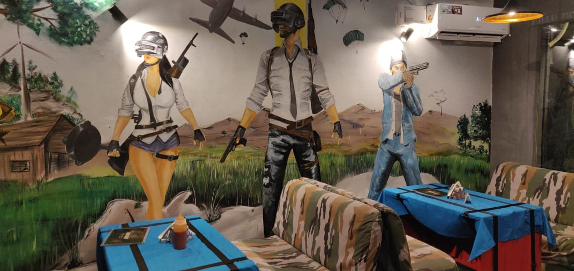 Check Out This Awesome Winner Winner Chicken Dinner Pubg: India's First PUBG Themed Restaurant Opened In Jaipur And