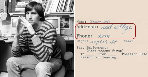 This Lazy Af Resume By Young Steve Jobs Shows We Have