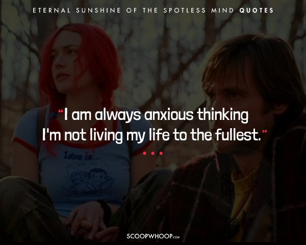 60 'Eternal Sunshine Of The Spotless Mind' Quotes That Perfectly Best Love Is Eternal Quotes