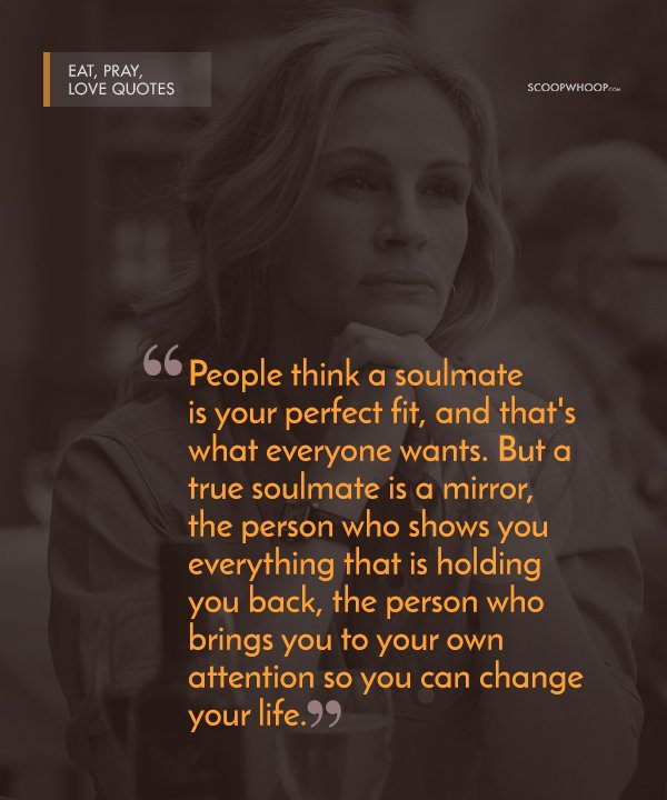 Eat Pray Love Quotes Custom 48 Poignant Quotes From 'Eat Pray Love' That Are Your Perfect Cheat
