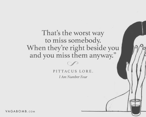 19 Lines About Missing Someone That Are So True That It Will Make