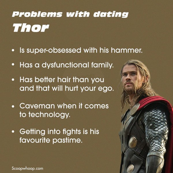 dating superheroes