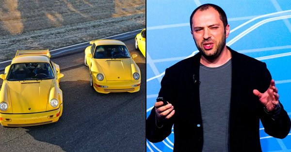 WhatsApp Co-Founder Is Selling 10 Of His Porsches Because He Doesn't Have The Time To Drive Them
