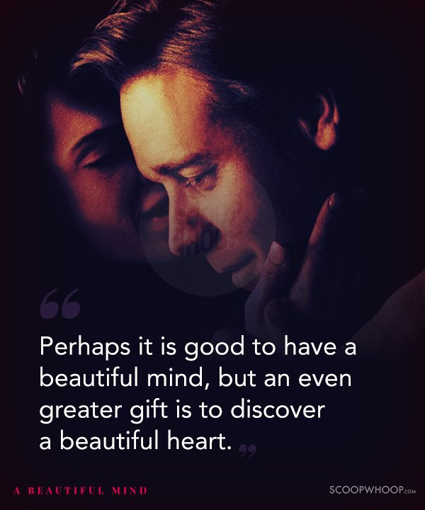 20 Quotes From 'A Beautiful Mind' That Capture The