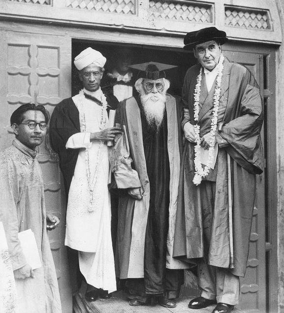 10 rare pictures of gurudev rabindranath tagore that you for Shantiniketan tagore