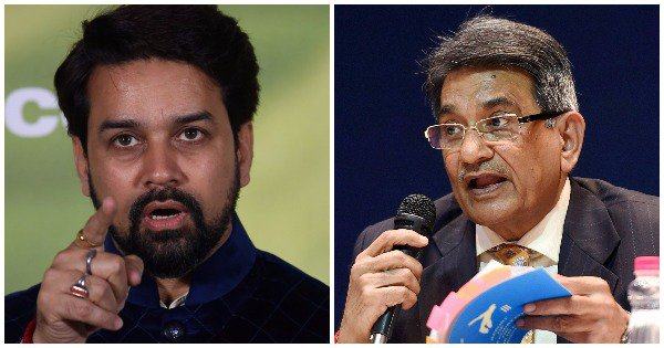 Here We Go Again! Lodha Panel Recommends Removal Of BCCI's ...