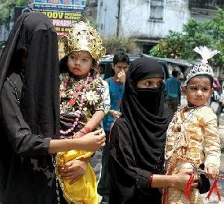 hindu muslim conflict in india