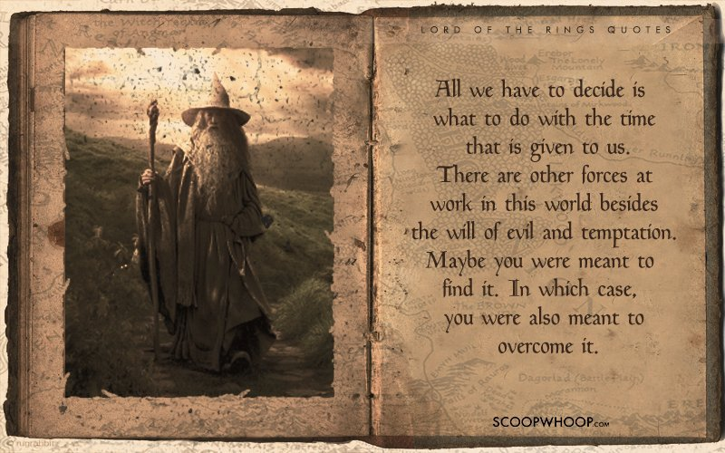 Lord Of The Rings Quotes 20 Profound Lines From Lord Of The Rings That Explain Why It's A  Lord Of The Rings Quotes