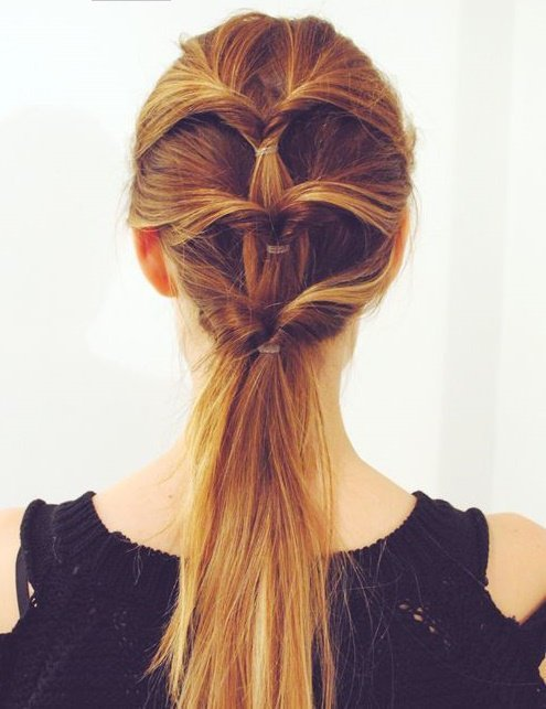 12 Simple Easy Hairstyles For Girls Who Are Always In A Hurry