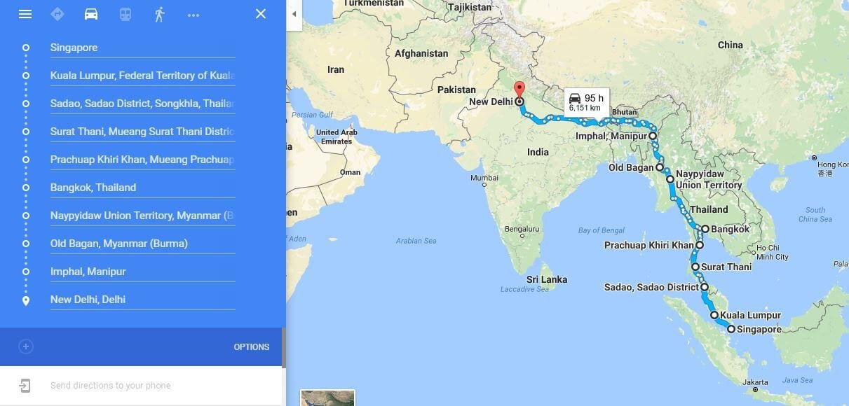 This Group Of Indian Bikers Has Set Off On A Road Trip From ...