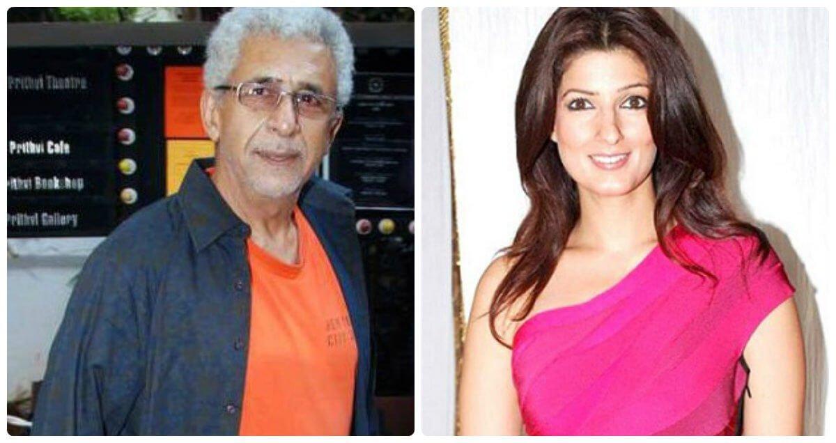 Twinkle Khanna Blasts Naseeruddin Shah For Calling Rajesh ...