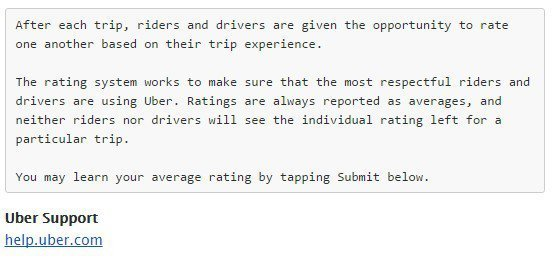 Do You Know How Uber Drivers Have Rated You As A Passenger