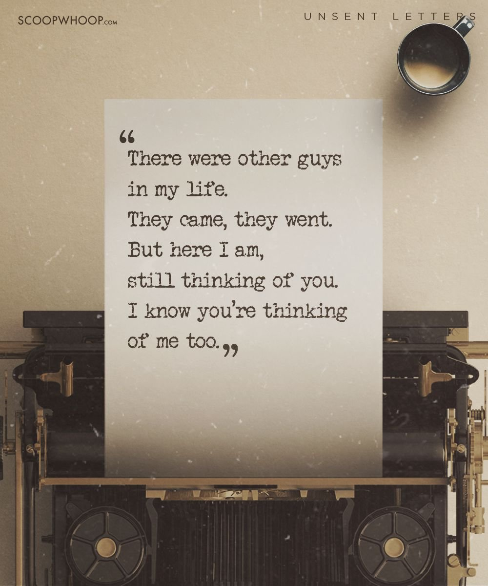 These Emotional Unsent Letters Will Make You Say Everything YouVe