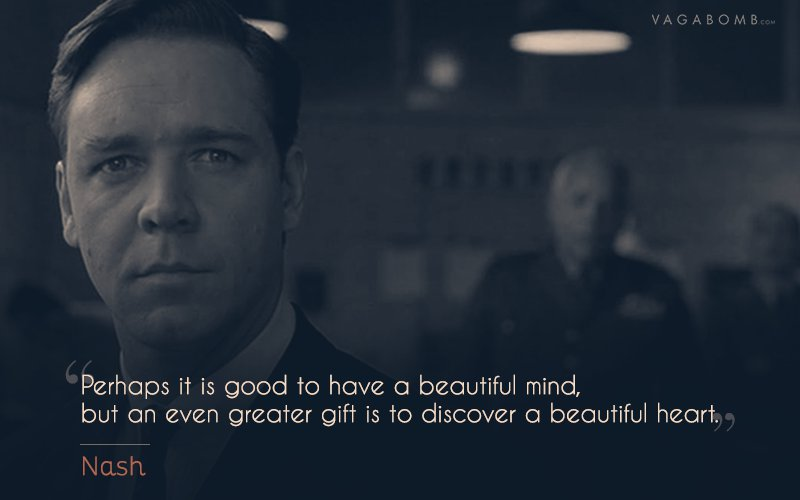 Quotes From Beauteous 10 Quotes From A Beautiful Mind That Perfectly Capture The
