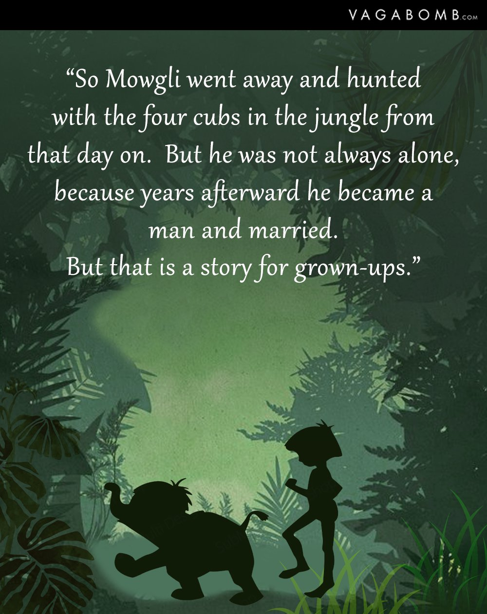 Jungle Book Quotes Cool 10 Quotes From The Jungle Book That Will Take You Back To Your