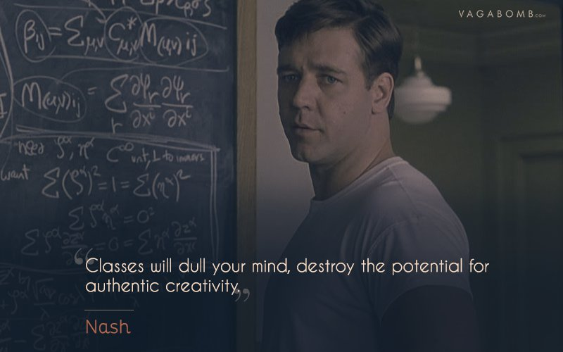 10 Quotes From A Beautiful Mind That Perfectly Capture The Inspiring