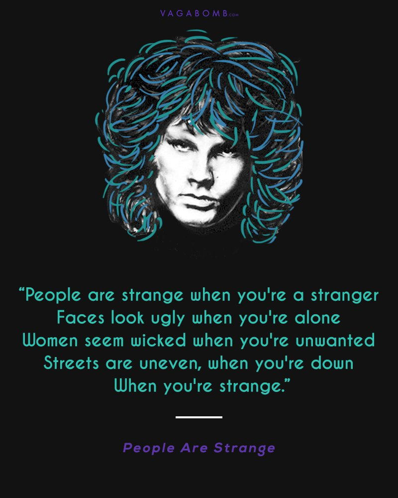 10 Immortal Lyrics by Jim Morrison That Capture His Rebellious