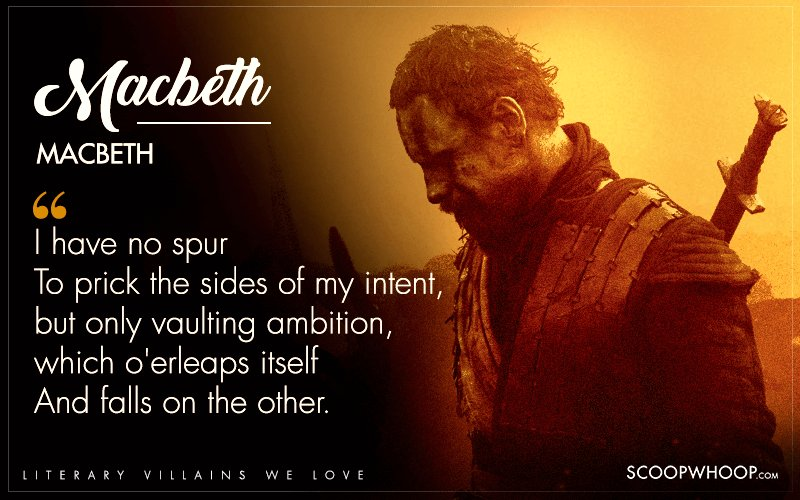 macbeth vaulting ambition When macbeth speaks of vaulting ambition, he says he has no inspiration to murder duncan, but he does have the need for extreme power when he says,.