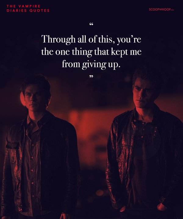 25 \'The Vampire Diaries\' Quotes That Showed Us The Different ...