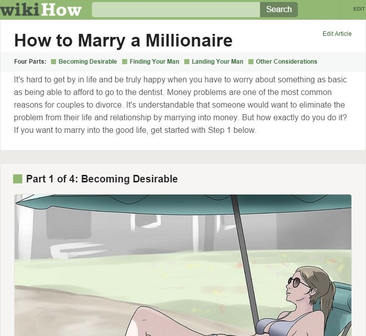 How To Find A Millionaire Husband