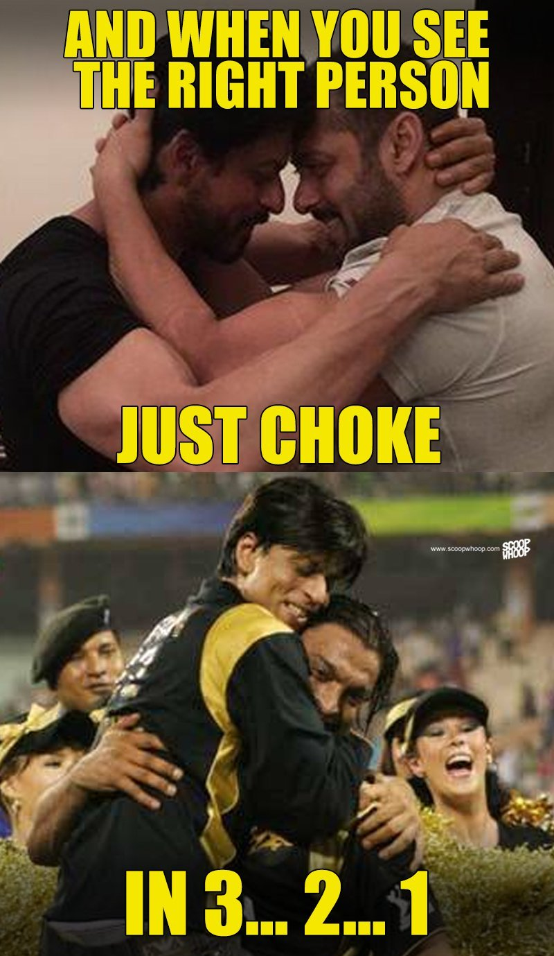 These 11 Hilarious Salman Srk Wrestling Memes Are Going To Choke You