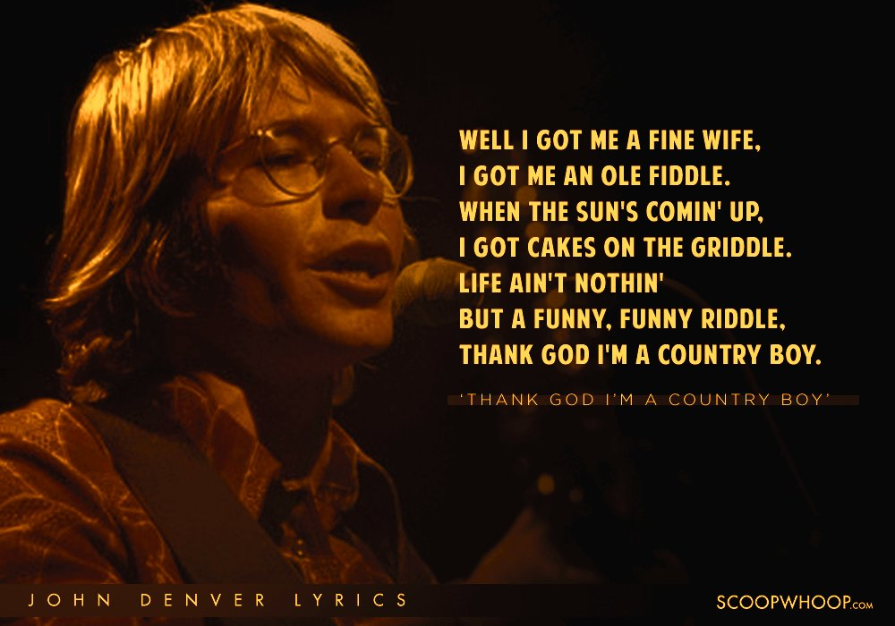 15 Beautiful Lyrics By John Denver That Will Fill Up Your Senses
