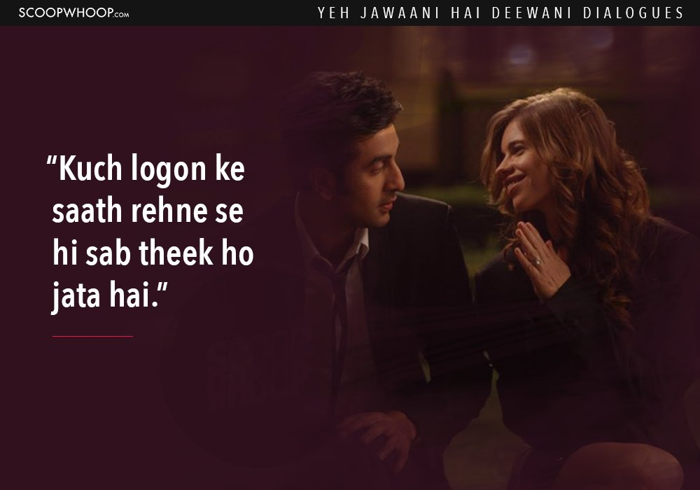 14 'Yeh Jawaani Hai Deewani' Dialogues That Prove It's Our