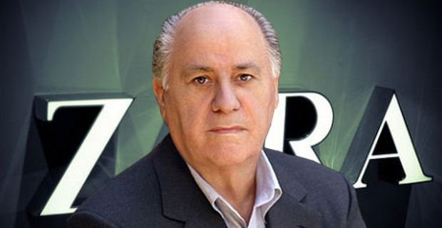 Amancio Ortega earned a  million dollar salary, leaving the net worth at 71300 million in 2017