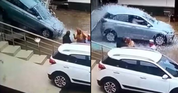 Woman Goes To Buy A New Car, Accidentally Crashes It Through The Showroom