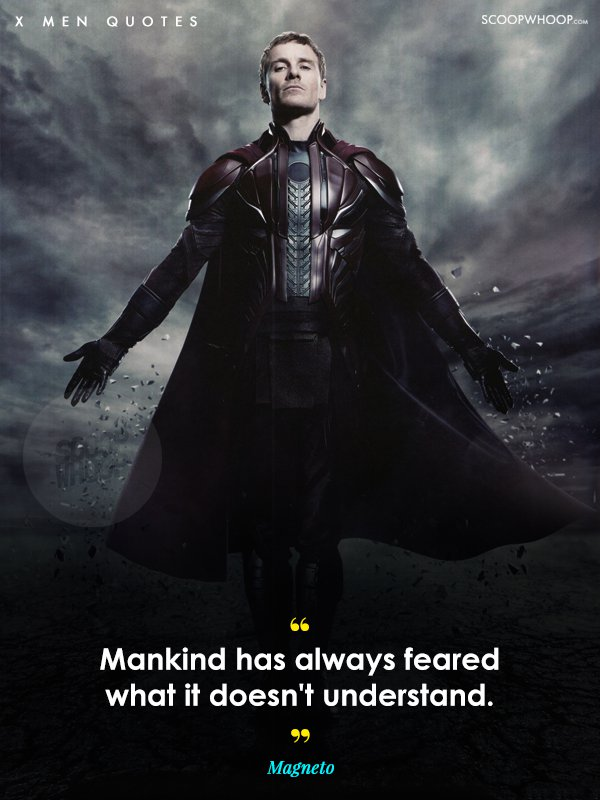 In Today S Hate Filled World These X Men Quotes Are More