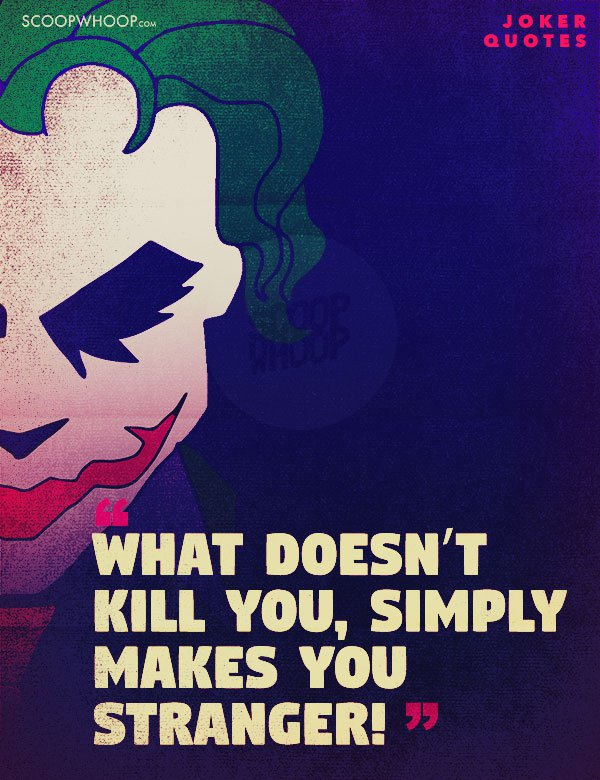 18 Quotes By The Joker That Reflect The Madness That Is